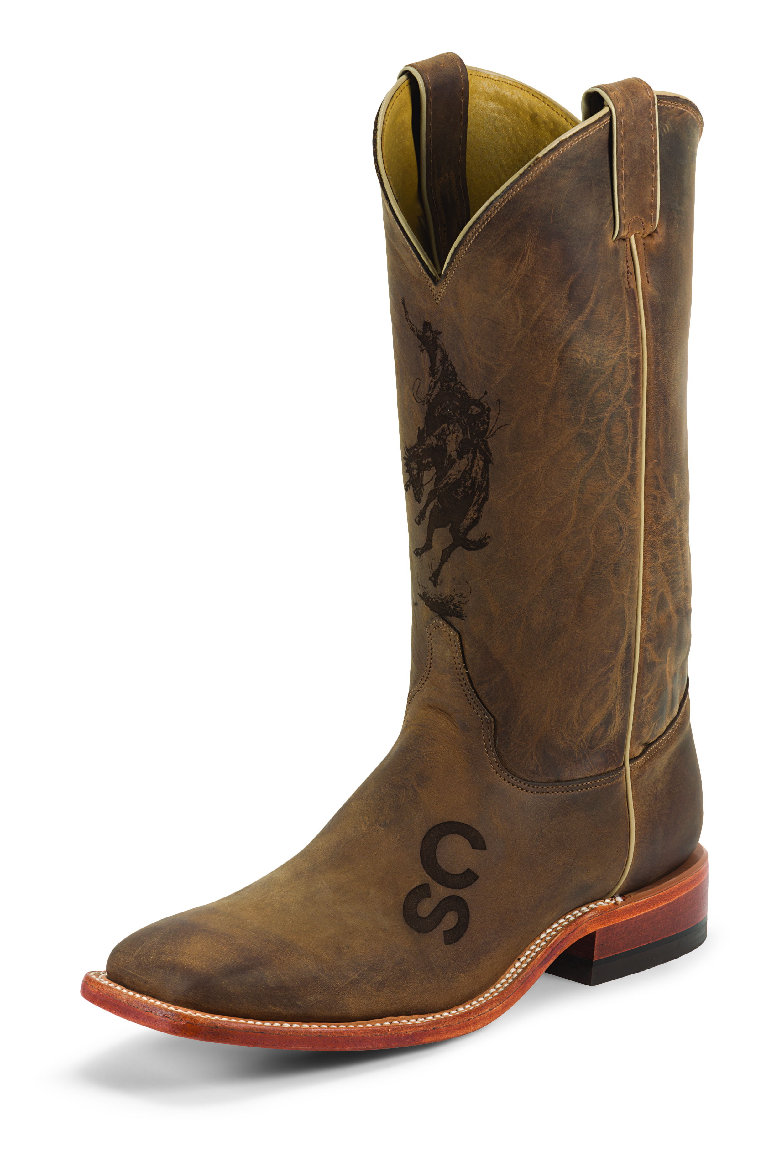 Justin Boots Celebrates The Centennial Cashmere Amp Camo