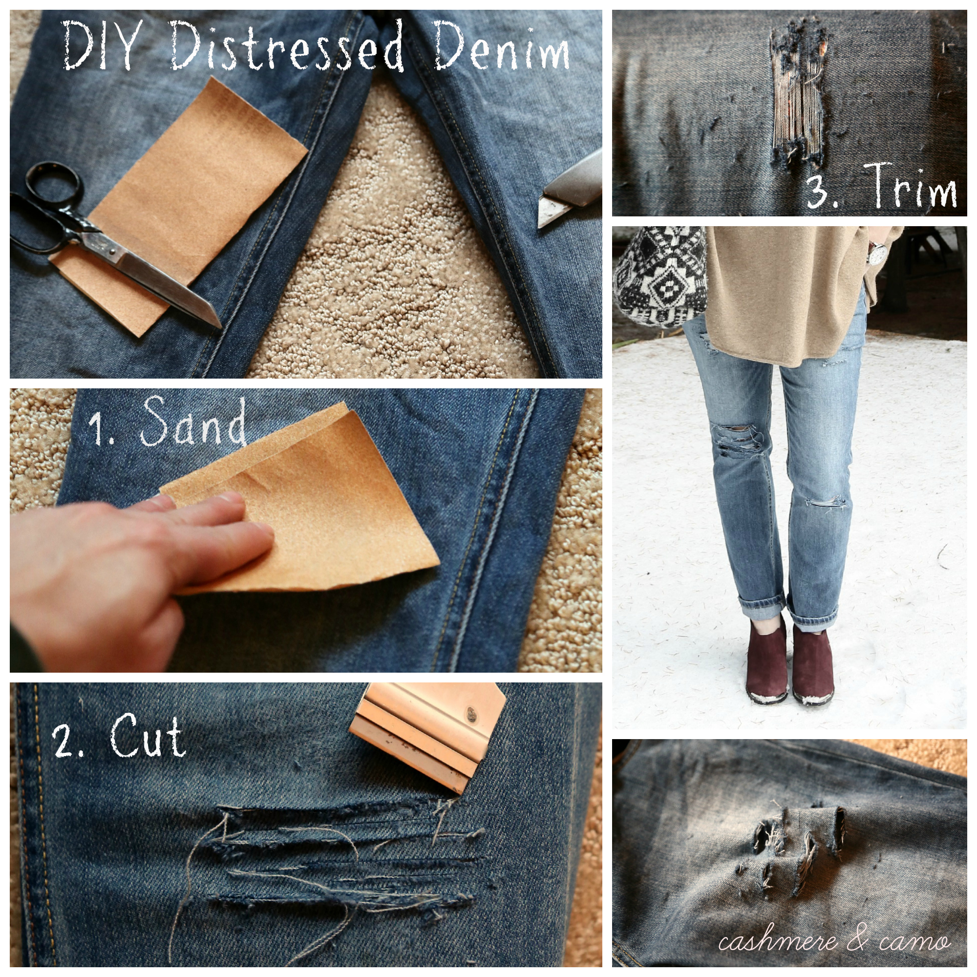 How To Make Ripped Skinny Jeans Ye Jean